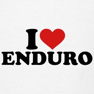 I love Enduro Mugs & Drinkware - Men's T-Shirt