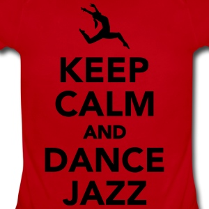 Keep calm and dance jazz Kids' Shirts - Short Sleeve Baby Bodysuit