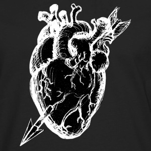 pierced heart Tanks - Men's Premium Long Sleeve T-Shirt