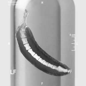 BANANA X RAY - Water Bottle