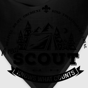 A real scout knows what counts T-Shirts - Bandana