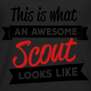 This is what an awesome scout looks like Baby & Toddler Shirts - Men's Premium Long Sleeve T-Shirt