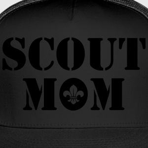 Scout mom Women's T-Shirts - Trucker Cap