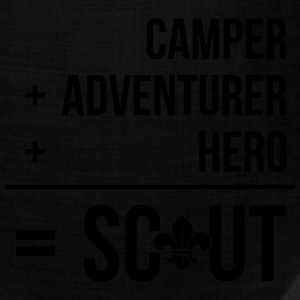 Camper+adventurer+hero = Scout Women's T-Shirts - Bandana