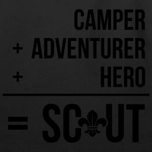 Camper+adventurer+hero = Scout Hoodies - Eco-Friendly Cotton Tote