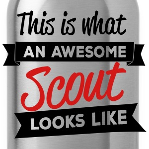 This is what an awesome scout looks like Kids' Shirts - Water Bottle