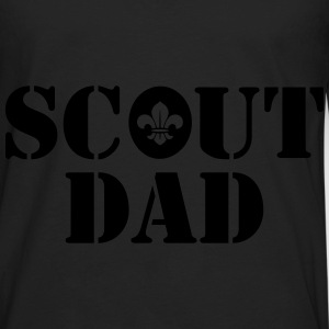 Scout dad Hoodies - Men's Premium Long Sleeve T-Shirt