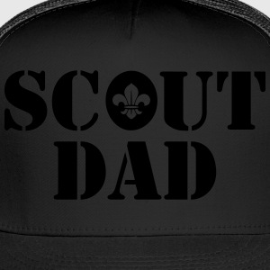 Scout dad T-Shirts - Trucker Cap