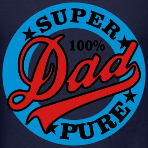 Super Dad 100% Polo Shirts - Men's T-Shirt