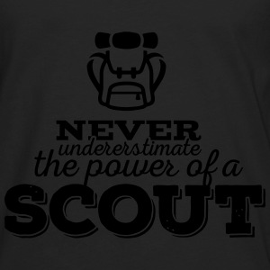 Never underestimate the power of a scout Tanks - Men's Premium Long Sleeve T-Shirt