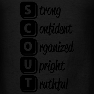S-c-o-u-t Hoodies - Men's T-Shirt