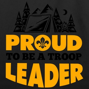 Proud to be a troop leader Women's T-Shirts - Eco-Friendly Cotton Tote