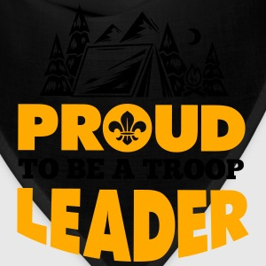 Proud to be a troop leader Women's T-Shirts - Bandana
