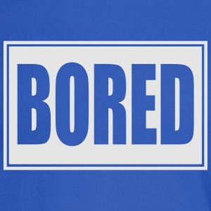 bored,Teenager,Teen - Men's Long Sleeve T-Shirt