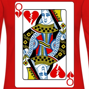 Queen of Broken Hearts T-Shirts - Women's Premium Long Sleeve T-Shirt