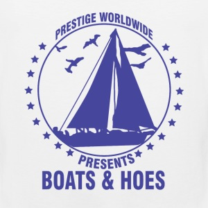 boating, boat, boat captain, boats and hoes, boats - Men's Premium Tank