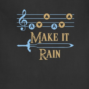 MAKE IT RAIN Foy Vance song - Adjustable Apron