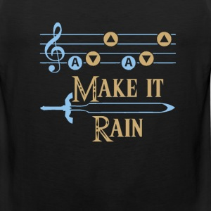 MAKE IT RAIN Foy Vance song - Men's Premium Tank