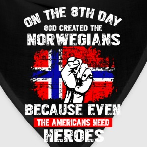 GOD CREATED THE NORWEGIAN - Bandana