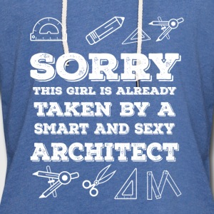 Architect - Taken By Smart And Sexy - Unisex Lightweight Terry Hoodie