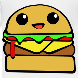 Kawaii Cheeseburger - Toddler Premium T-Shirt