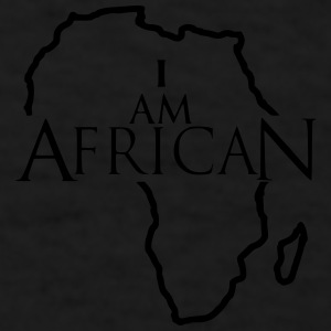 I Am African Mug - Men's T-Shirt