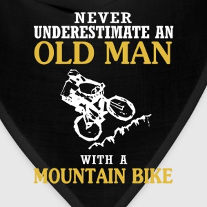 OLD MAN WITH A MOUNTAIN BIKE - Bandana