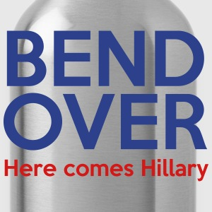 Bend Over Here comes Hillary - Water Bottle