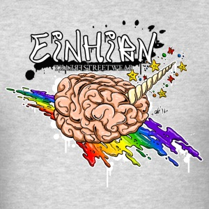 Einhirn Long Sleeve Shirts - Men's T-Shirt