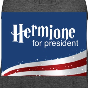 Hermione for president - Women's Flowy Tank Top by Bella