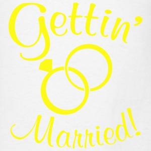 Gettin' Married! Tanks - Men's T-Shirt
