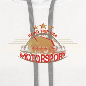 usa-motorsport T-Shirts - Contrast Hoodie