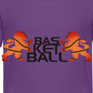 Basketball Kids' Shirts - Toddler Premium T-Shirt