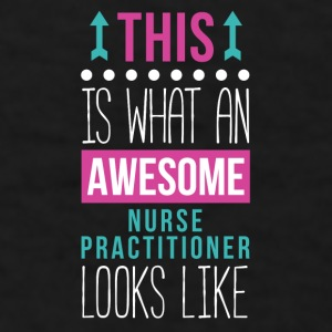 Awesome Nurse Practitioner Professions T Shirt Mugs & Drinkware - Men's T-Shirt