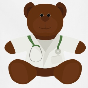 Dr Teddy bear  - Adjustable Apron