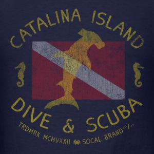 Catalina Island Dive and Scuba T-shirt - Men's T-Shirt