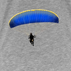paragliding Hoodies - Men's Premium T-Shirt