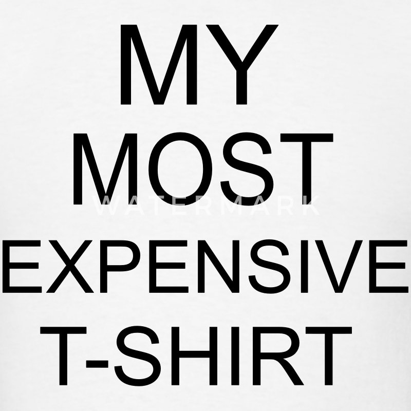 Most Expensive T-SHIRT T-Shirts - Men's T-Shirt