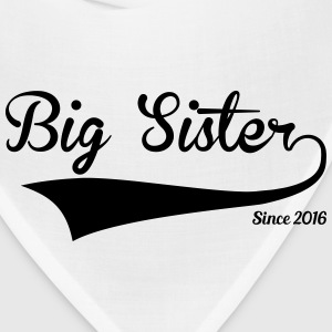 Big Sister Since 2016 Women's T-Shirts - Bandana