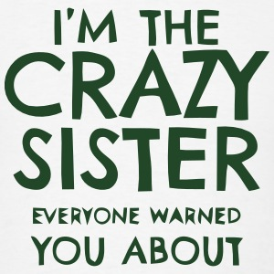 I'M THAT CRAZY SISTER Polo Shirts - Men's T-Shirt