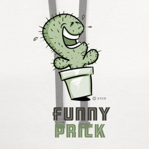 Funny Prickle! T-Shirts - Contrast Hoodie