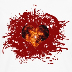 supernova heart Women's T-Shirts - Men's Premium Long Sleeve T-Shirt