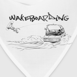 wakeboarding Baby & Toddler Shirts - Bandana