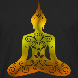 Yoga Buddha Watercolor - Men's Premium Long Sleeve T-Shirt
