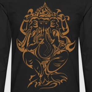 Yoga Lord Ganesha - Men's Premium Long Sleeve T-Shirt