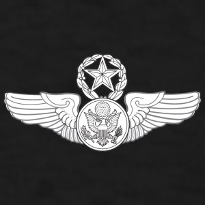 MASTER ENLISTED AIRCREW WINGS - Men's T-Shirt