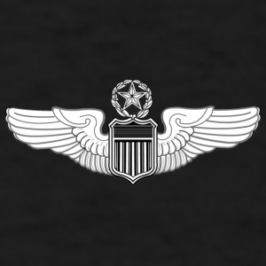COMMAND PILOT WINGS - Men's T-Shirt