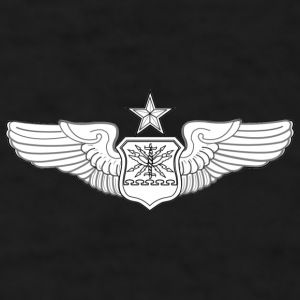 SENIOR NAVIGATOR WINGS - Men's T-Shirt