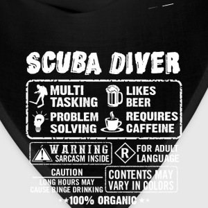 SCUBA DRIVER diving and funny - Bandana