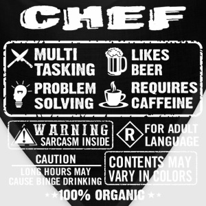 CHEF funny and humor - Bandana